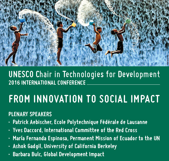 GIF Co-Hosts Panel at Biennial UNESCO Tech4Dev Conference in Lausanne