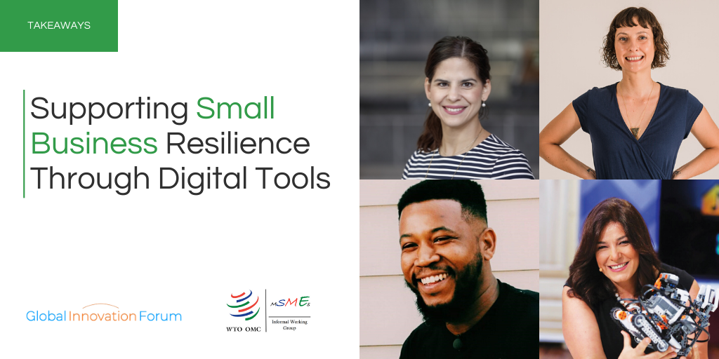 Supporting Small Business Resilience through Digital Tools
